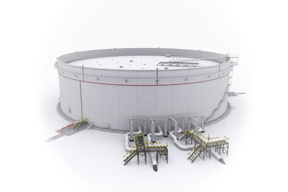 Fuel Storage Tanks Conditioning and Cleaning